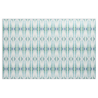 'Stockholm' Blue White & Green Fabric by Juul