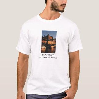 Stockholm capital of Sweden t-shirt