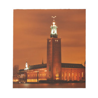 Stockholm City Hall, Sweden Notepad