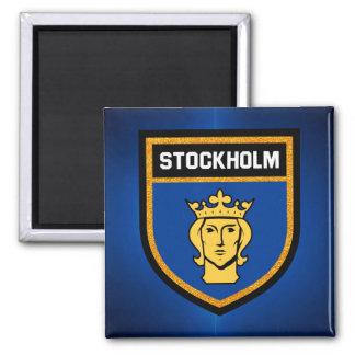 Stockholm Flag Magnet
