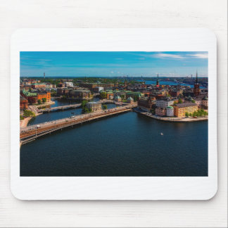 Stockholm Skyline Mouse Pad