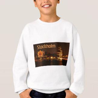 Stockholm, Sweden at night Sweatshirt