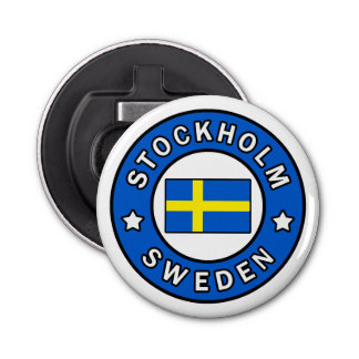 Stockholm Sweden Bottle Opener