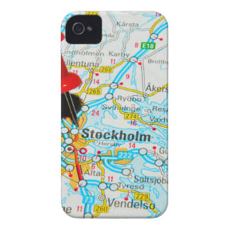Stockholm, Sweden iPhone 4 Case
