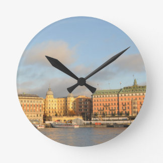 Stockholm, Sweden Round Clock