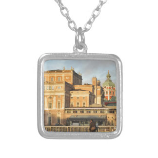 Stockholm, Sweden Silver Plated Necklace