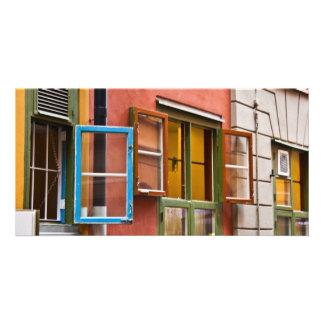 Stockholm Windows Customized Photo Card