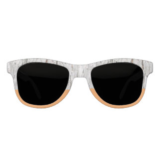 Stockholm Wood and Tangerine Statement Sunglasses