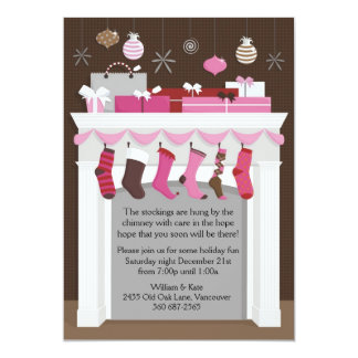 Stockings Hung Card