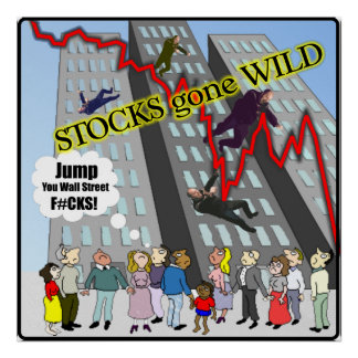 Stocks gone Wild Wall Street Poster