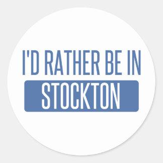 Stockton Classic Round Sticker