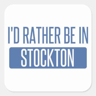 Stockton Square Sticker
