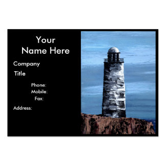 STOIC GUARDIAN (Lighthouse design) chubby b.card Pack Of Chubby Business Cards