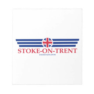 Stoke-on-Trent Notepad