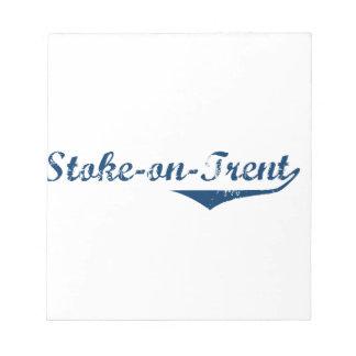 Stoke-on-Trent Notepad