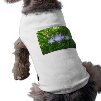 Stokesia Stokes Aster Pet Tshirt