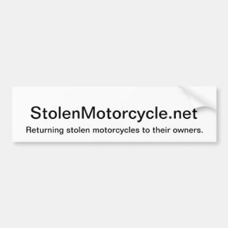 Stolen Bumper Sticker