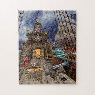 STOLEN PIRATE TREASURE JIGSAW PUZZLE