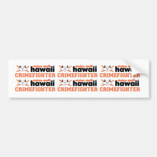 Stolen Stuff Hawaii Crimefighter Mini Stickers