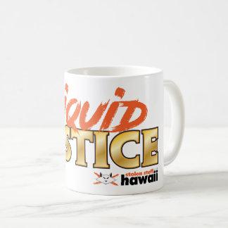 Stolen Stuff Hawaii Liquid Justice Mug