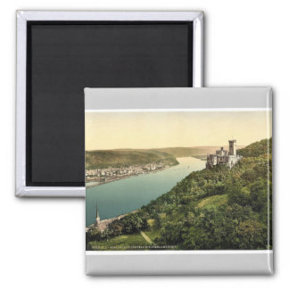Stolzenfels Castle and Oberlahnstein, the Rhine, G Magnet