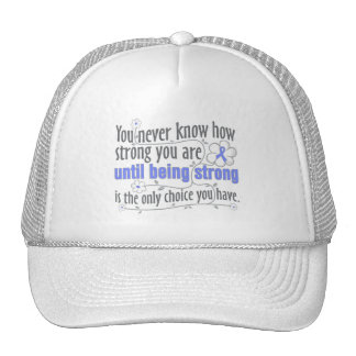 Stomach Cancer Being Strong Hat