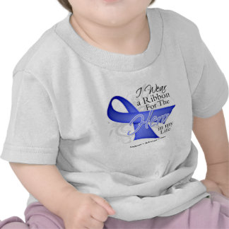 Stomach Cancer Ribbon Hero in My Life T-shirt