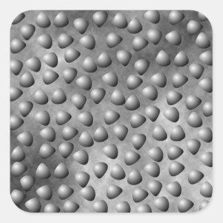 Stone and Pebbles Texture Square Sticker