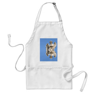 Stone angel in Rome, Italy Standard Apron