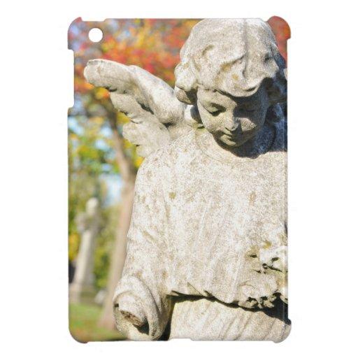 Stone angel iPad mini cover