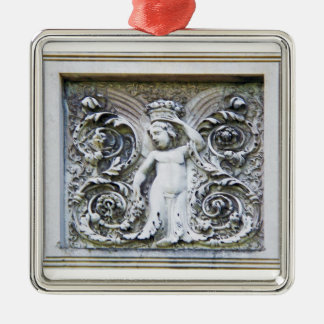 Stone Angel Of Abundance Ornament