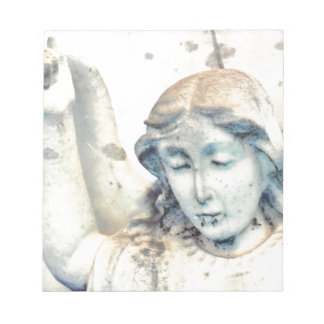 Stone angel portrait notepads
