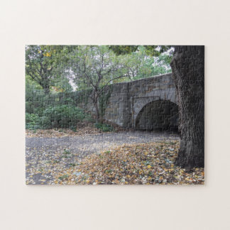Stone Archway, Riverside Park New York City NYC Puzzle
