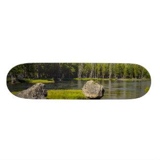 Stone At Madison River Skate Board Decks