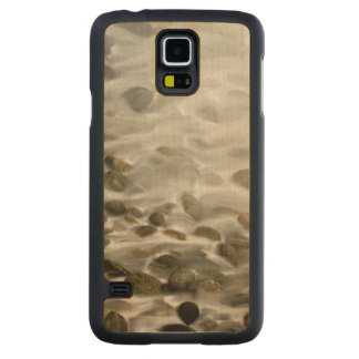 Stone Beach | Point Lobos State Reserve, CA Carved Maple Galaxy S5 Case