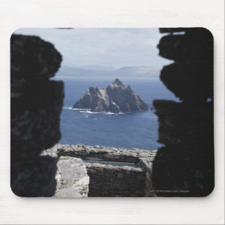 Stone Beehive Monk Huts Clochanson Skellig Michael Mouse Pad