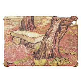 Stone Bench in the Saint-Paul Hospital - van Gogh Cover For The iPad Mini