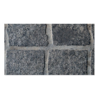 stone bricked wall pack of standard business cards