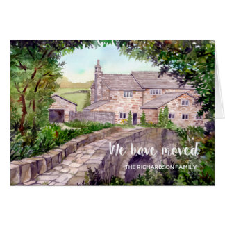 Stone Bridge New Home We Have Moved Card