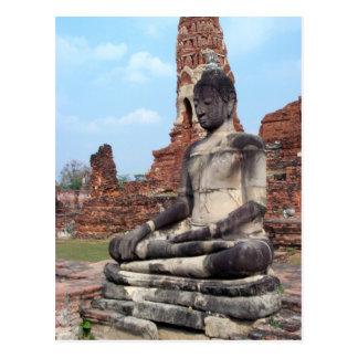 Stone Buddha Postcard