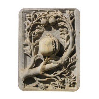 "Stone Carved Art Granada 3""x4"" Photo Magnet"