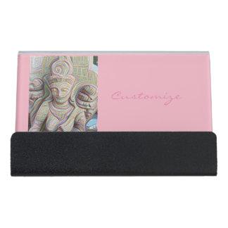 stone carved dakinis Thunder_Cove Desk Business Card Holder