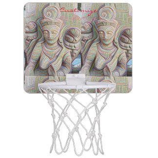 Stone carved dakinis Thunder_Cove Mini Basketball Hoop