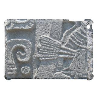 Stone carved wall iPad mini covers
