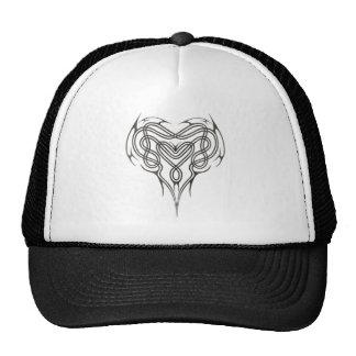 Stone Celtic Heart Knot Trucker Hat
