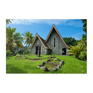 Stone Church In Kwato Island Acrylic Print
