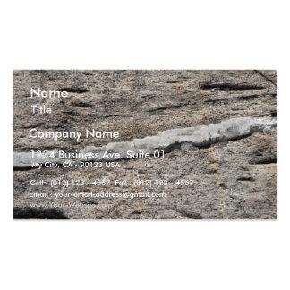 Stone Closeup Business Card Template