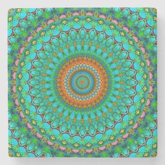 Stone Coaster Geometric Mandala G388