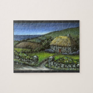 Stone Cottage in Donegal Jigsaw Puzzle