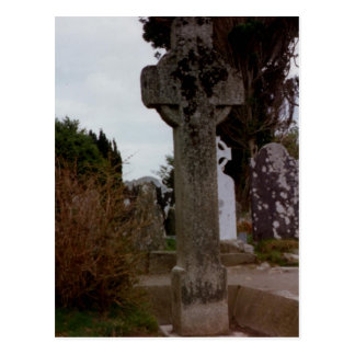 Stone Cross, Glendalough, Wicklow, Ireland Postcard